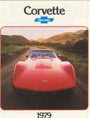 NOS 2 1979 Corvette Sales Brochures
