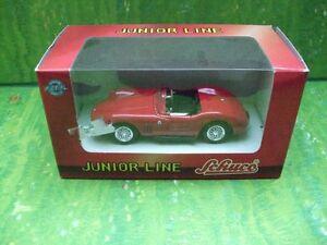 Schuco-Modell-in-1-43-Maserati-Cabrio-in-rot-und-in-OVP