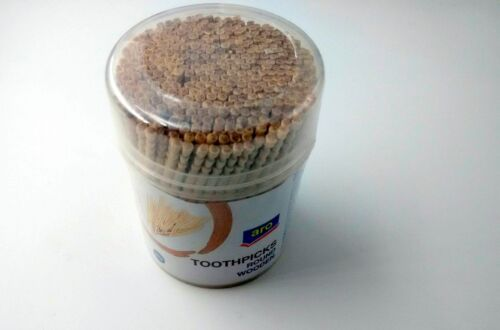 teeth Toothpicks Round Wooden 320 pieces lots available For picking starters
