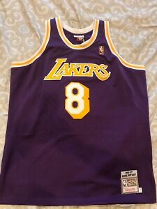 Details about Mitchell And Ness Kobe Bryant Rookie Jersey 2XL