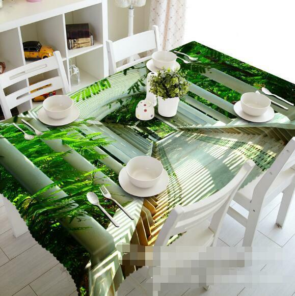 3D Corridor 52 Tablecloth Table Cover Cloth Birthday Party Event AJ WALLPAPER AU