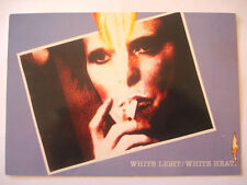 CPA DAVID BOWIE WHITE LIGHT WHITE HEAT CARTE POSTALE