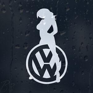 Sexy-Girl-Logo-Car-Decal-Vinyl-Sticker-VW-Golf-Jetta-Passat-Bora-Scirocco-GTI