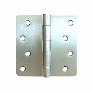 Image Is Loading Satin Nickel Finish Exterior Residential Door Hinge