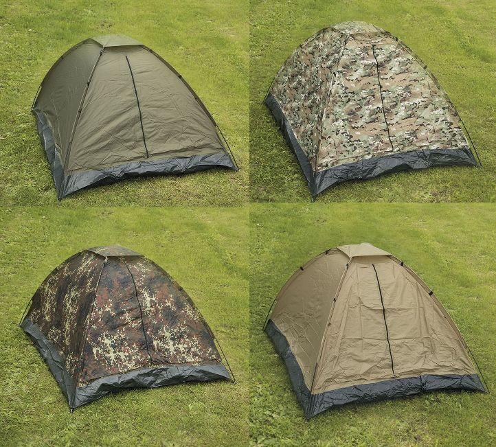 Tente Igloo 2 places miltec reonnée all'aperto campeggio
