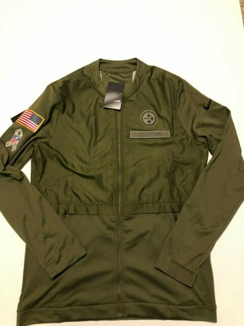 promo code b5956 45e40 Nike Men's Pittsburgh Steelers Salute To Service Hybrid Jacket Large L NFL  NWT