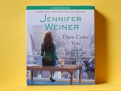 """ Then Came You "", Jennifer Weiner (audio Book, Cd's, 2011, Unabrid.) Hot Sale 50-70% Korting"