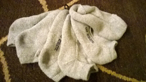 Gap ATHLETIC 3 pairs Gray ANKLE SOCKS 2 3 4 5 Years 5 inches long