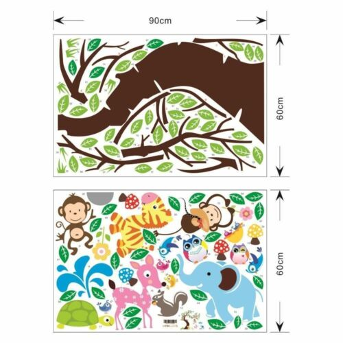 Wall Decal Jungle Series Choose Yours DIY Removable Sticker Perfect Baby Shower!