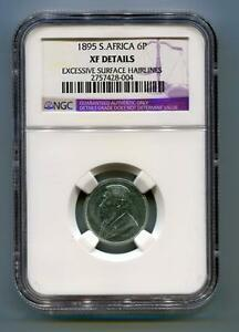 South-Africa-ZAR-NGC-Certified-1895-Kruger-6-Pence-Coin-XF-Details