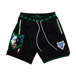 918e7845d Details about CUSTOM AUTHENTIC MINNESOTA TIMBERWOLVES MITCHELL NESS NBA  SHORTS just don nike