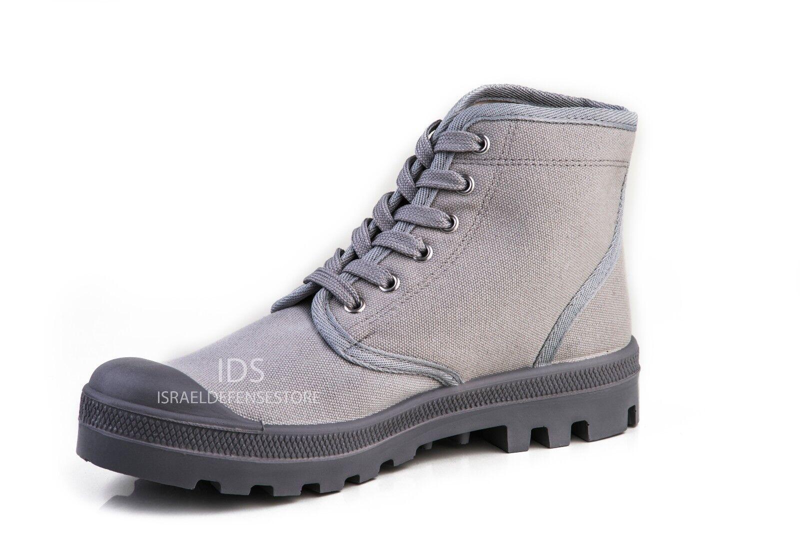 Israel Defense Forces Scout Commando Palladium Style GRAY Boots VEGAN US7 /EU41