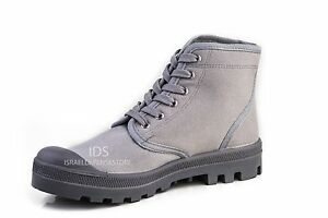 Israel-Defense-Forces-Scout-Commando-Palladium-Style-GRAY-Boots-VEGAN-US7-EU41