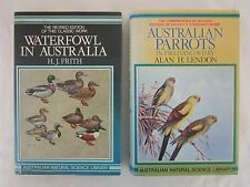 AUSTRALIAN PARROTS BOOK 1983 A LENDON + WATERFOWL IN AUSTRALIA H. J. FRITH H/C