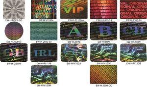 Security Hologram Sticker A Warranty Seal Labels Tamper Proof 10x10mm