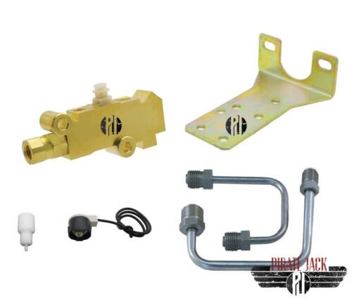 "Disc Disc Bottom Mount Proportioning Valve Kit 9//16/"" /& 1//2/"" Ports Left Side Exit"