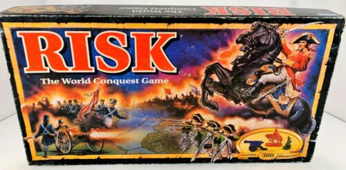 1992 Risk Board Game by Parker Brothers Complete in Good Condition FREE SHIPPING