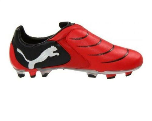 12 Pwr Puma Fg 101901 Scarpa in c rossa pelle per 2 10 uomo da calcio B8qB6T