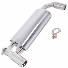 STAINLESS STEEL EXHAUST REAR SILENCER BACK BOX FOR ROVER MGF MGTF 1.6 1.8 VVC