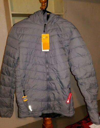 Champion  Grey Lightweight Puffer Jacket