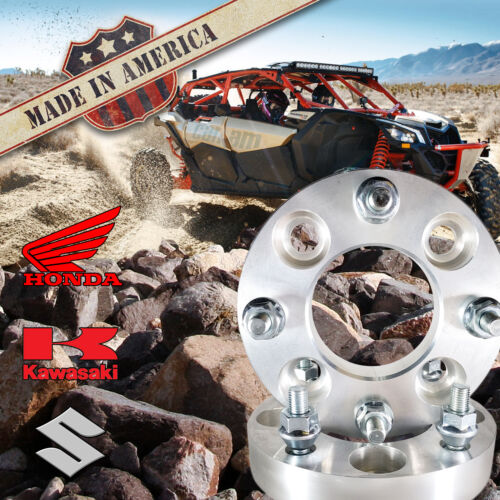 "2 USA 4x137 to 4x115 ATV Wheel Spacers 2/"" Can-Am Commander Maverick Outlander"