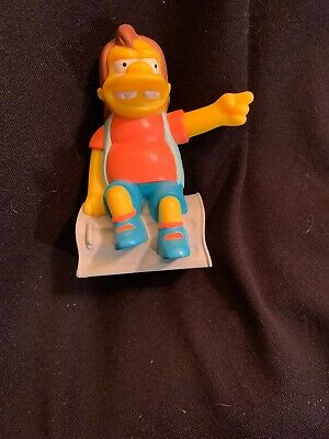 2007 The Simpsons Movie Burger King Toy Nelson See Pictures For Condition Ebay