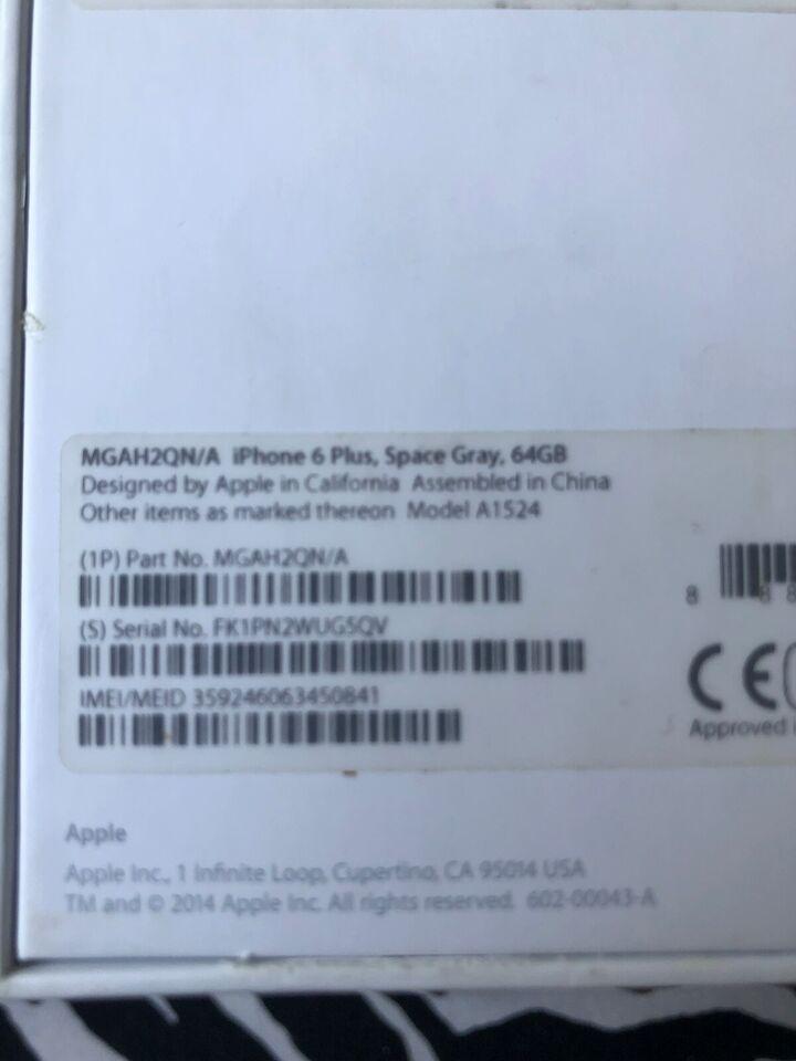 Hej jeg søger efter min stjåle iPhone 6 plus i...