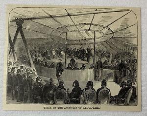 1885-Revista-Grabado-Prueba-Of-The-Assassins-Of-Abdul-Haziz