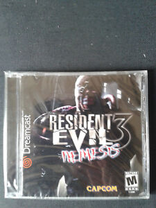 Sega-Dreamcast-Resident-Evil-3-Nemesis-US-NEUF-Scelle-NEW-FACTORY-SEALED