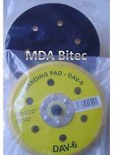 Starchem DA Pad 6-Hole HookIt Backing Pad For 150mm Sanding / Abrasive Discs