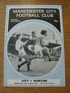 16081972 Manchester City v Everton  Light Crease - <span itemprop=availableAtOrFrom>Birmingham, United Kingdom</span> - Returns accepted within 30 days after the item is delivered, if goods not as described. Buyer assumes responibilty for return proof of postage and costs. Most purchases from business s - Birmingham, United Kingdom
