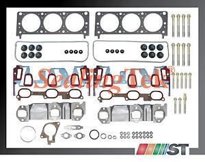 Fit 00-03 GM 3400 3.4L 207 V6 VIN E Engine Cylinder Head Gasket Set w// Bolts kit