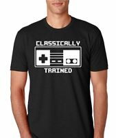 Nintendo classically Trained Mens Athletic Fit T-shirt
