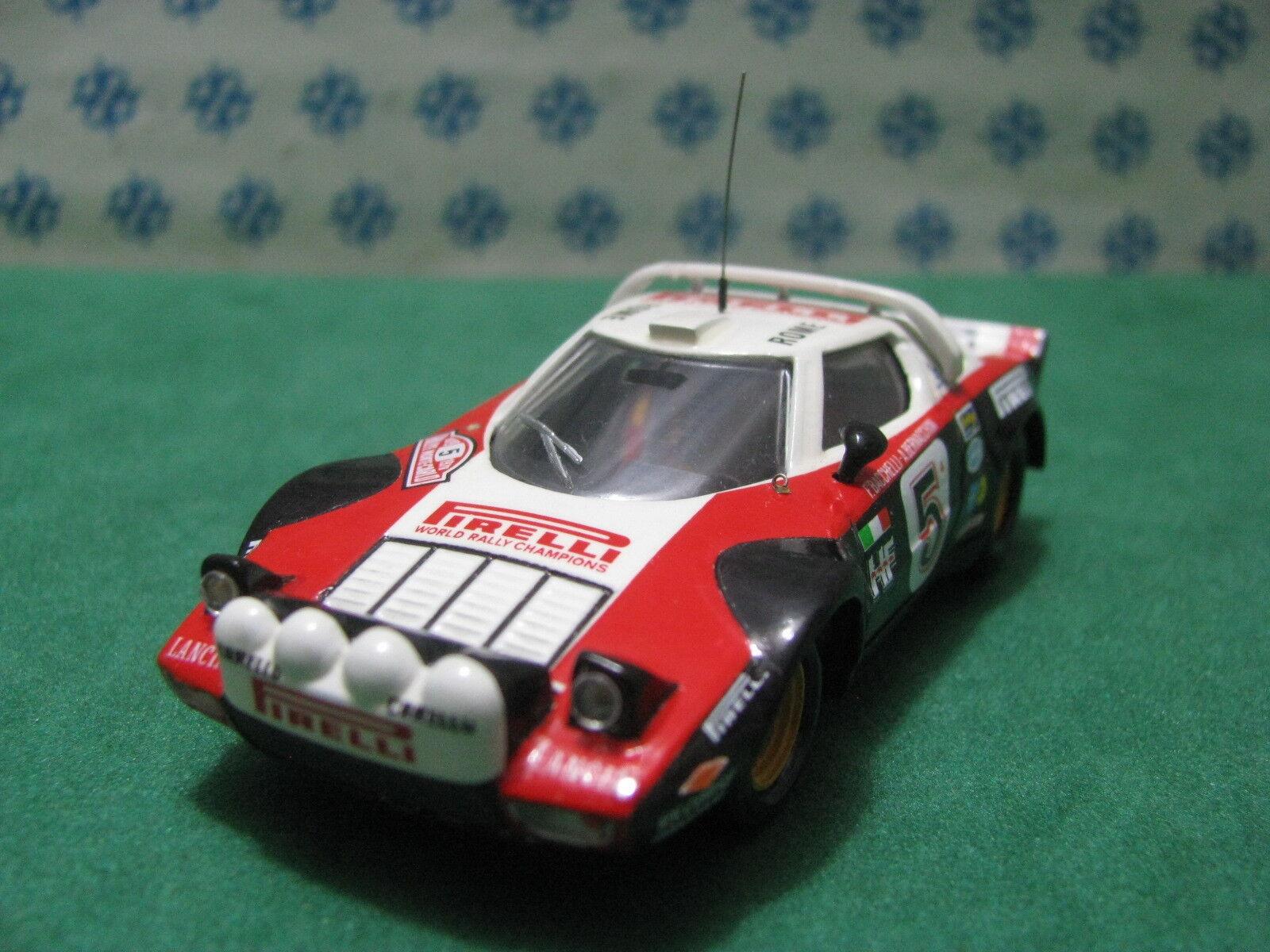 Vintage - Lancia Stratos Rallye Monte Carlo 1978 - 1 43 Elab. Base Solid