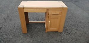 TREND-OAK-SINGLE-PEDESTAL-COMPUTER-DESK-DEL-AVAIL