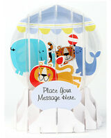 3d Pop Up Snow Globe Greeting Card By Up With Paper - Baby Mobile 009