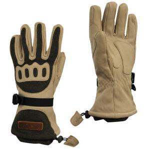 254268178a1fa Nike ACG Transition Mens Gloves Sports Ski Beige 266098 295 UW44 | eBay
