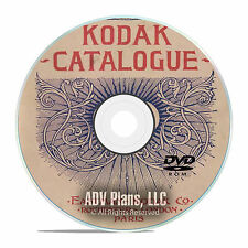 Eastman Kodak Camera History, Vintage Literature, Catalogs, Books, PDF DVD E64