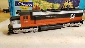 Athearn-New-Haven-sdp40-dummy-locomotive-train-engine-HO-very-nice
