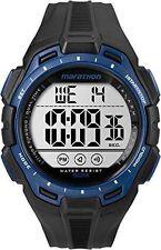Mens Timex Marathon Indiglo Black Rubber Sports Alarm Digital Watch TW5K94700