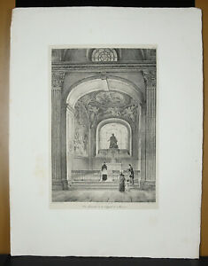 View-of-The-Chapelle-of-St-Maurice-J-B-Vinchon-c1830-Vinchon-amp-Renoux-Engraving