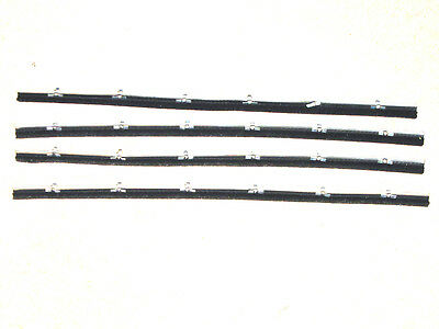 CLASSIC MORRIS MINOR WEATHER STRIP SET WITH CLIPS