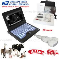 Vet Animal Ultrasound Scanner 35 Convex Probe Portable Laptop Machine Fedex Usa