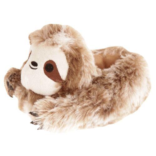 SL713 Slumberzzz Childrens//Kids Sloth Slippers