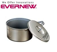 Evernew Ultralight Titanium Non Stick 1.3 Liter Pot 1300 ml 5.7 oz ECA-423 Kitchen