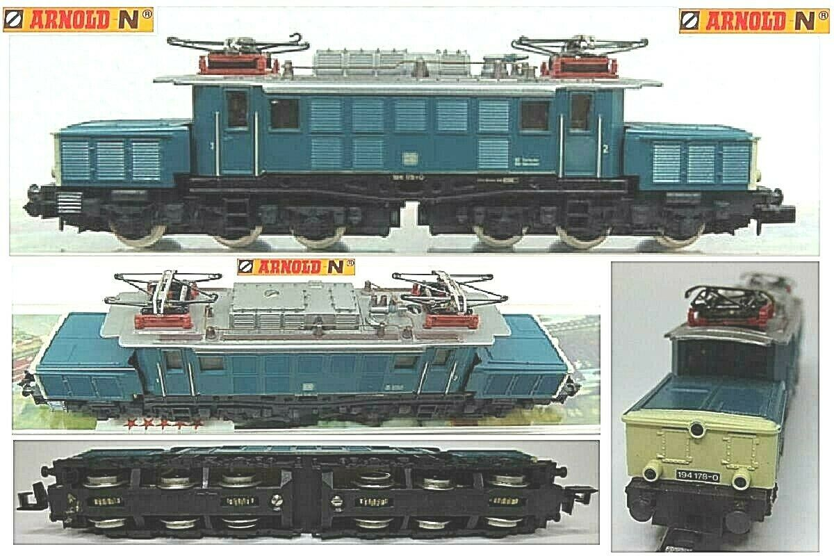 ARNOLD 2311 VINTAGE LOCOMOTIVE LOCOMOTIVE LOCOMOTIVE ELECTRICAL CROCODILE JOINTED DB BR19A LADDER-N 137b6c