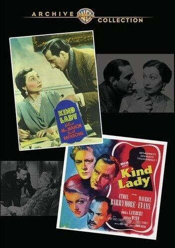 Kind Lady Double Feature [New DVD] Manufactured On Demand