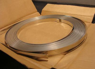 Dixon SS500 Stainless Steel 201 Strapping Band 1//2 Band Width 100 Length
