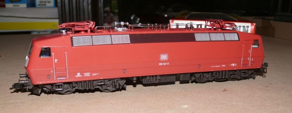 K25 4352 Fleischmann e Lok br 120 143-3 DB