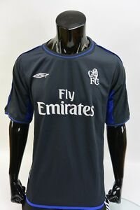 3ef34a889be Image is loading 2002-04-UMBRO-Chelsea-FC-Away-Shirt-SIZE-